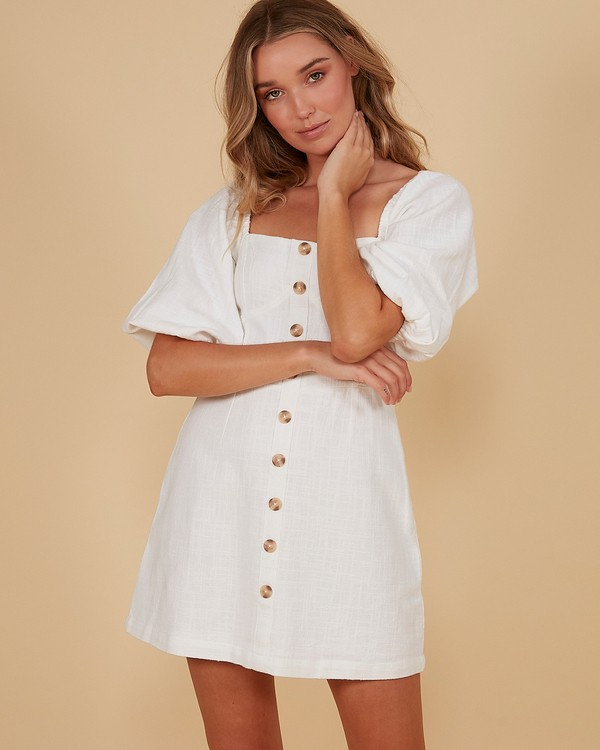 0 White Sand Dress White 6507693M Billabong