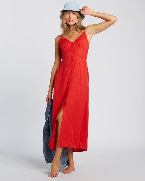 0 Sugared Life Dress Red 6507805X Billabong