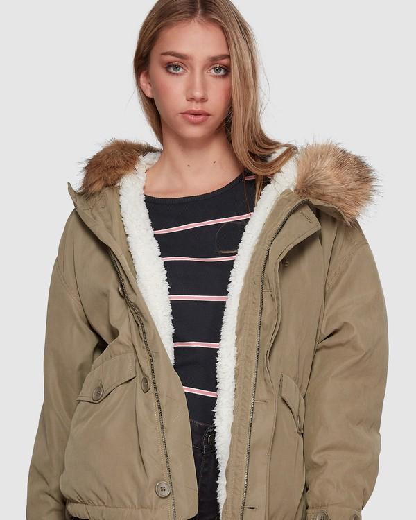 0 Woodlands Jacket Green 6507896 Billabong