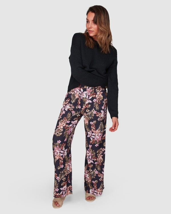 0 Easy Love Pants Black 6508405 Billabong