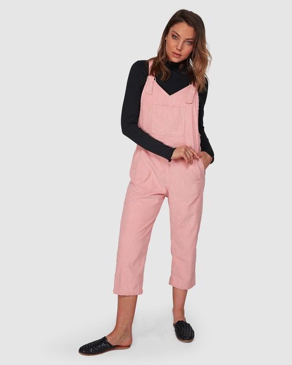 0 Tell Me Jumpsuit Pink 6508502 Billabong