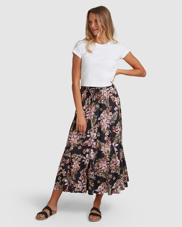 0 Easy Love Skirt Black 6508521 Billabong