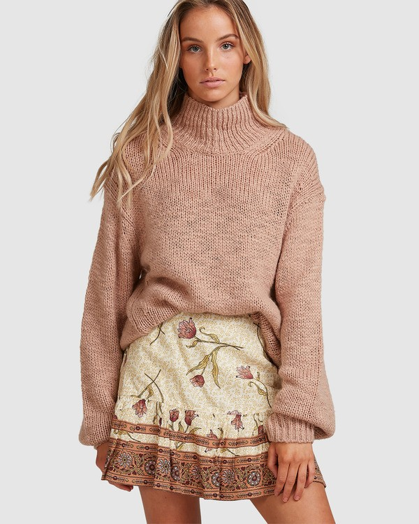0 Drift Away Skirt Beige 6508523 Billabong