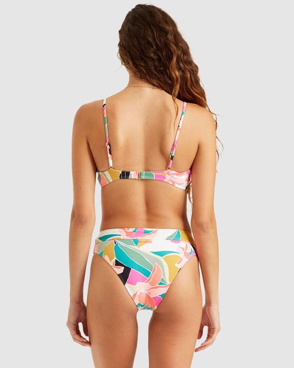 0 Wild Sun Maui Rider Bikini Bottoms Grey 6508631 Billabong