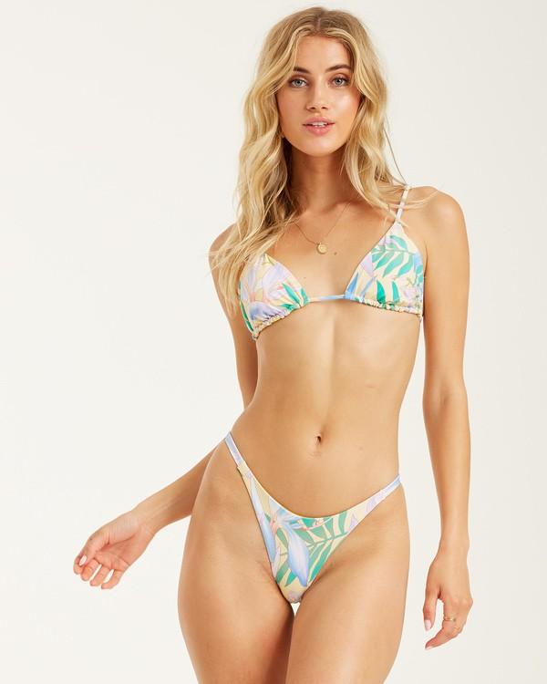 0 Love Palms Tri Bikini Top Yellow 6508676 Billabong
