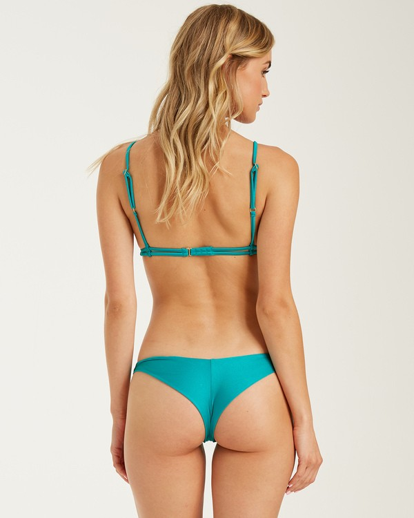 0 Sol Searcher Tanga Bikini Bottoms Green 6508684 Billabong