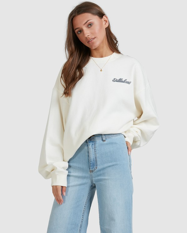 0 Chase The Sky Crew White 6513210 Billabong