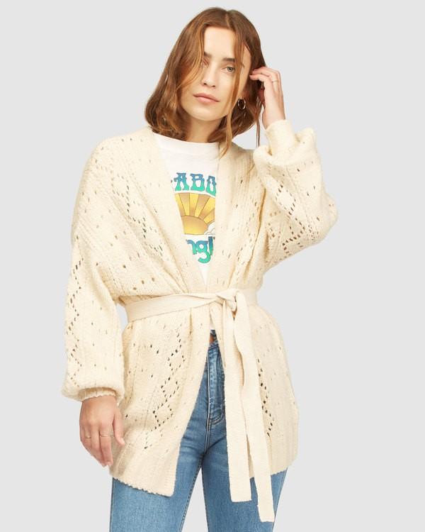 0 Wrangler Wrangled Up Sweater White 6513296 Billabong