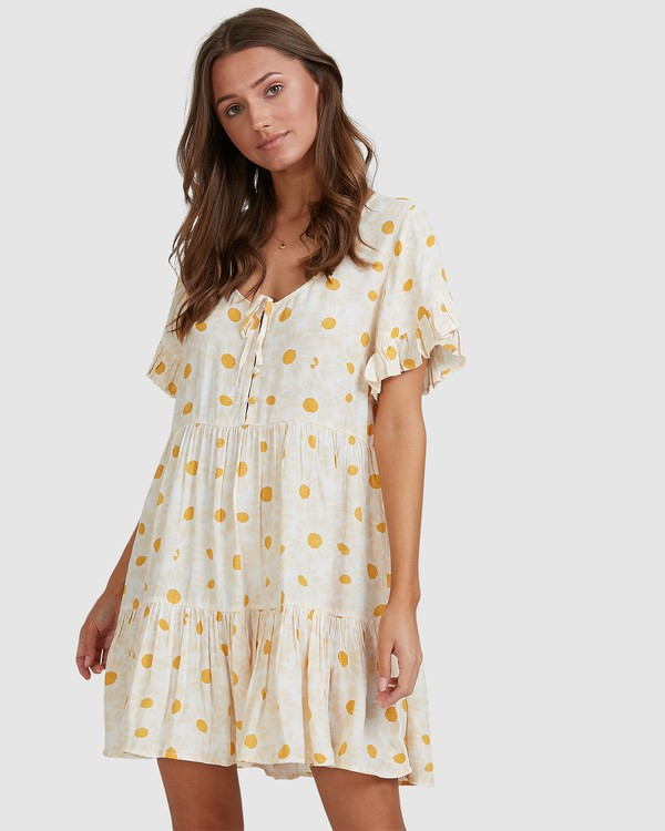 0 Daisy Chain Dress White 6513462 Billabong