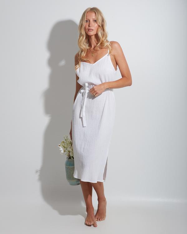 0 Tropic Sands Midi Dress White 6513468 Billabong