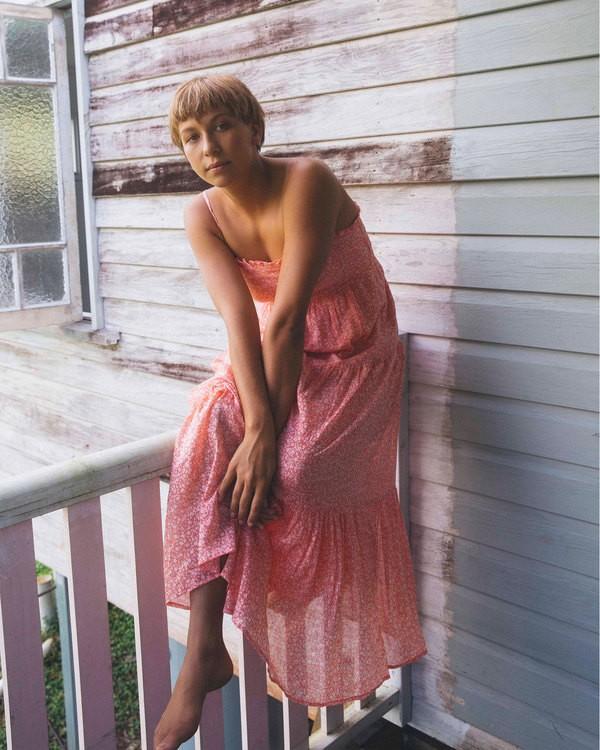 0 Wrangler Prairie Days Dress Red 6513484 Billabong