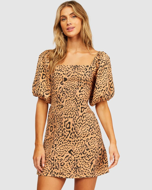 0 Paradise Mini Dress Brown 6513491 Billabong