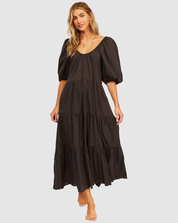 0 Endless Shore Maxi Dress Black 6513492 Billabong