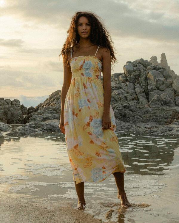 0 Baja Breeze Dress Yellow 6513494 Billabong