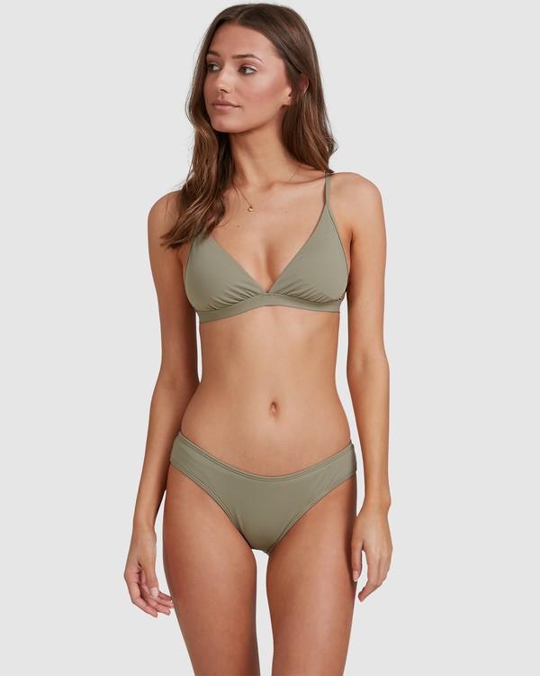 0 Sol Searcher Hi Point Tri Bikini Top Grey 6513701 Billabong