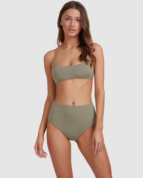0 Sol Searcher Bralette Bikini Top Grey 6513706 Billabong