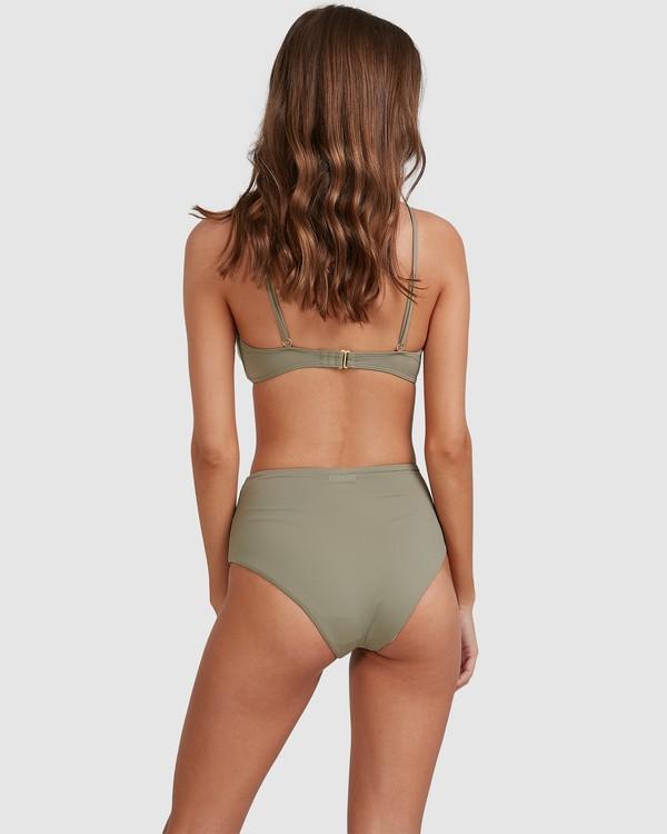 0 Sol Searcher Hi Retro Bikini Bottoms Grey 6513714 Billabong