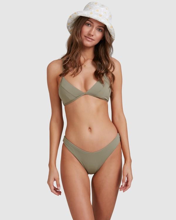 0 Sol Searcher Charlie Trilette Bikini Top Grey 6513717 Billabong