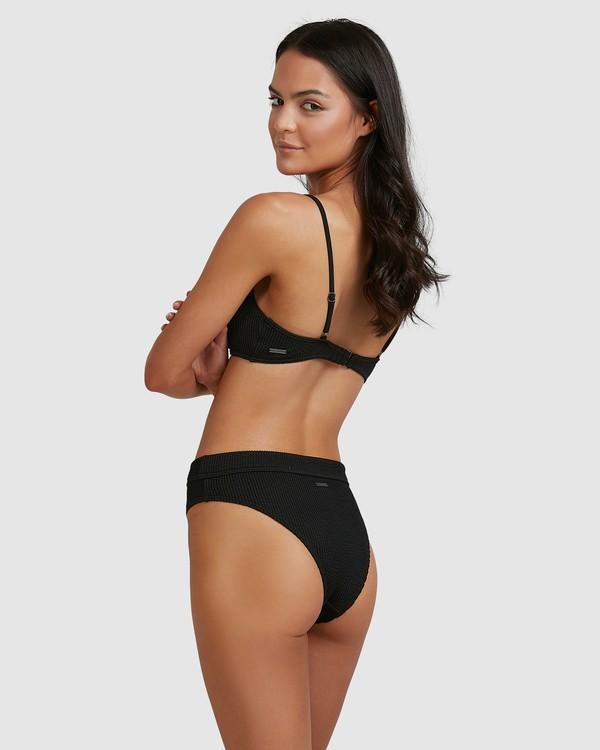 0 Summer High Maui Rider Bikini Bottoms Black 6513722 Billabong