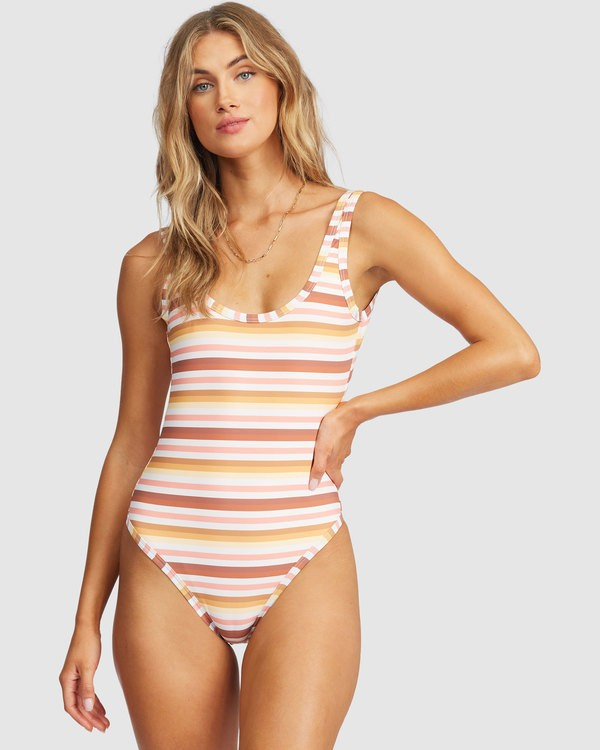 0 Ray Of Gold One-Piece Swimsuit Grey 6513893 Billabong