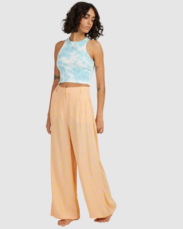 0 Hot Tropics Pants Orange 6513928 Billabong