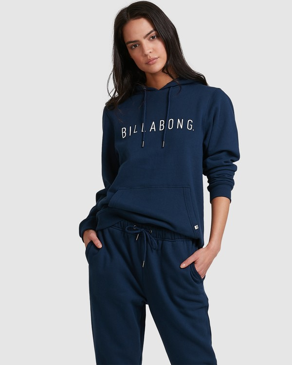 0 Rebellion Pop Hoodie Blue 6517211 Billabong