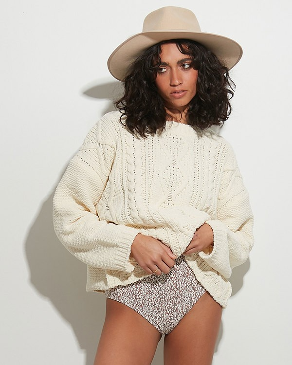 0 Only Yours Sweater Beige 6517295 Billabong