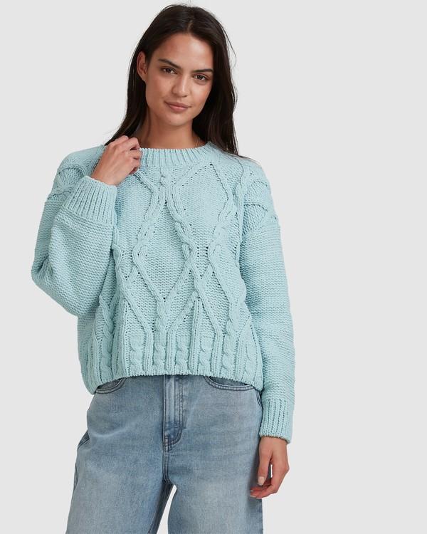 0 Only Mine Sweater Blue 6517308 Billabong