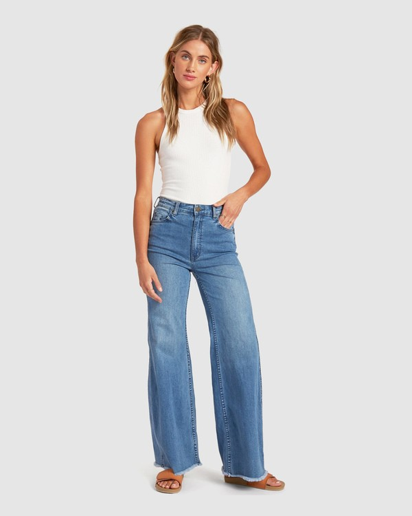 0 Wide Range Pants Blue 6517400 Billabong