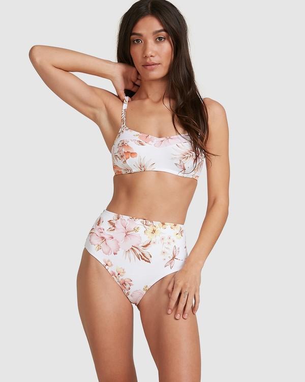 0 Shallows D/DD Vintage Bralette Bikini Top White 6517703 Billabong