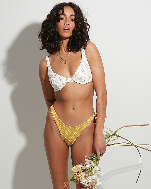 0 Candy Spot Hike Bikini Bottoms Yellow 6517710 Billabong