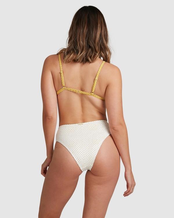0 Candy Spot Hi Maui Bikini Bottoms White 6517711 Billabong