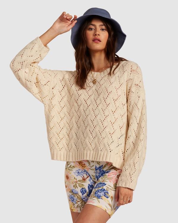 0 Sweet Daze Sweater White 6517955 Billabong