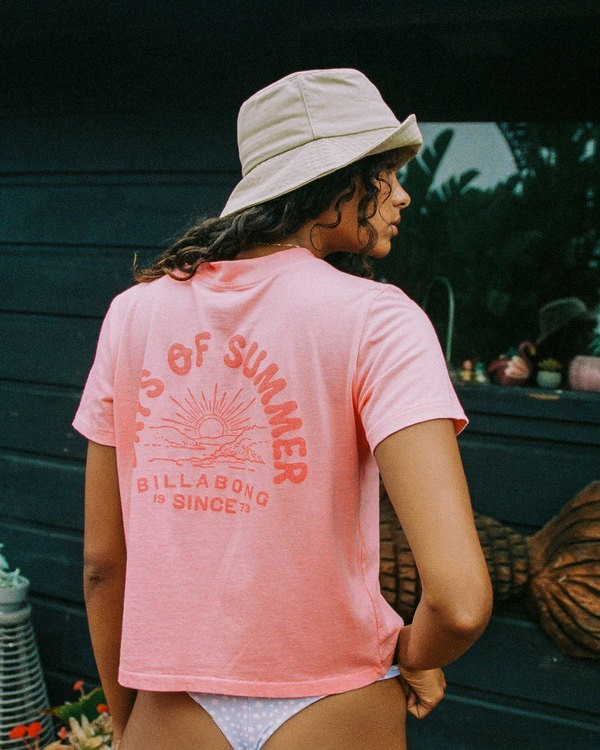 0 Eco Rockers T-Shirt Orange 6518025 Billabong