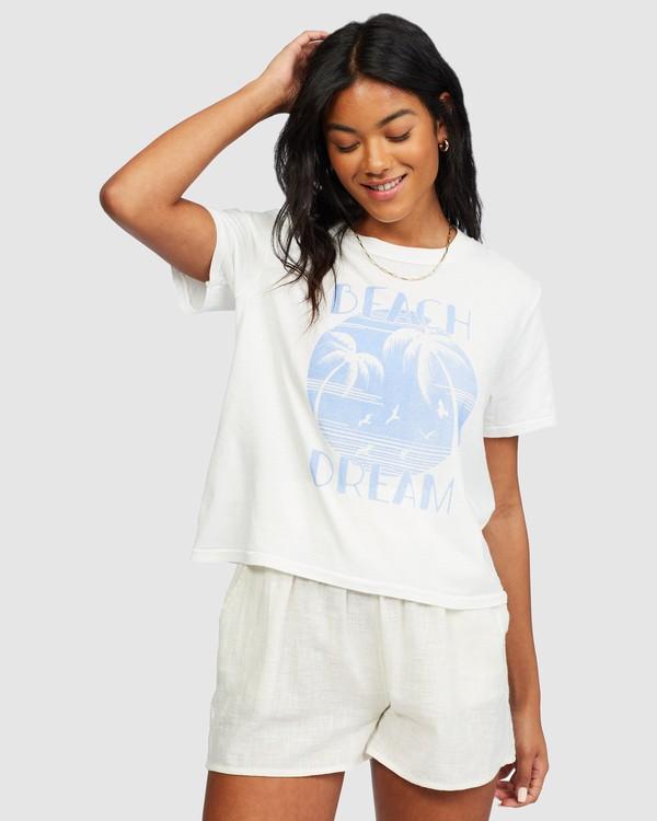 0 Eco Rockers T-Shirt White 6518025 Billabong