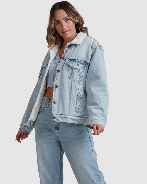 0 Such A Trip Jacket Blue 6518267 Billabong
