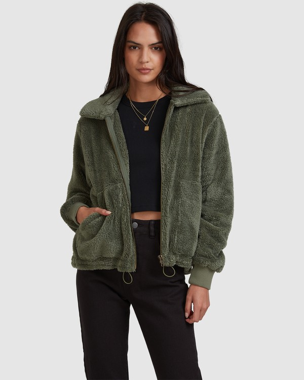 0 Always Cosy Jacket Green 6518274 Billabong