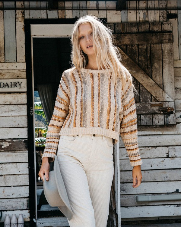 0 Easy Going Sweater Beige 6518296 Billabong