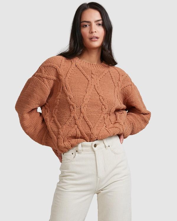 0 Only Mine Sweater Brown 6518297 Billabong