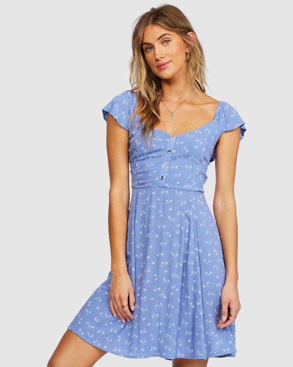 0 Forever Yours Dress Blue 6518485 Billabong