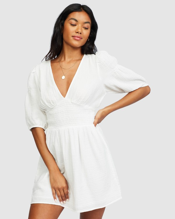 0 Spellbound Dress White 6518494 Billabong