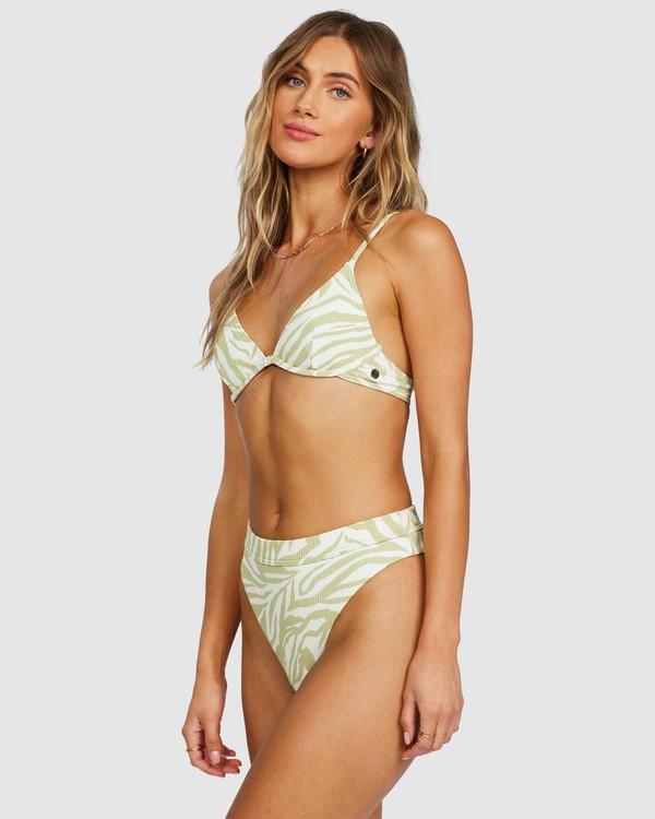 0 Jungle Town Underwire Bikini Top Green 6518760 Billabong