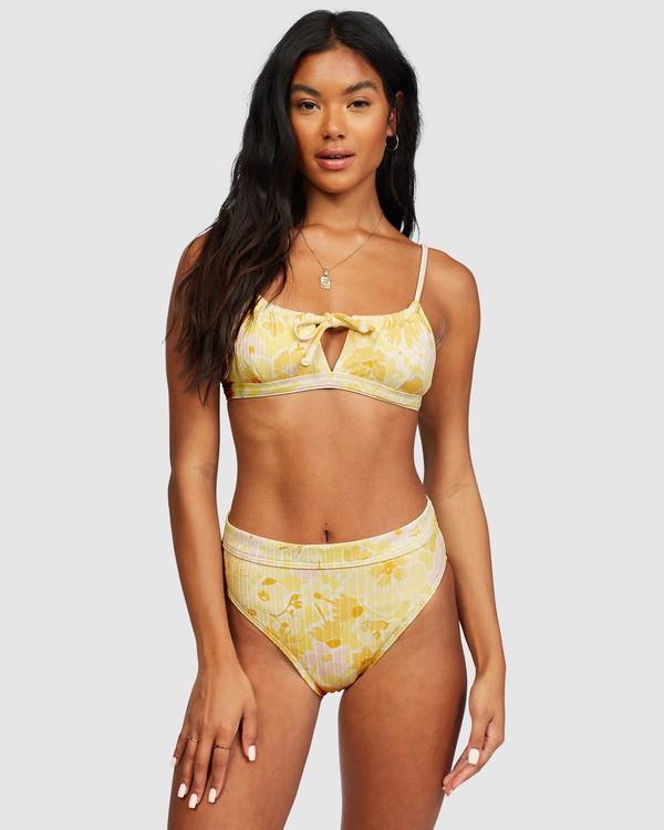 0 Make You Mine Coco Bralette Bikini Top Yellow 6518761 Billabong