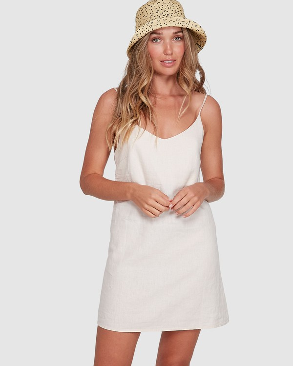 0 Summer Love Dress Beige 6572476 Billabong