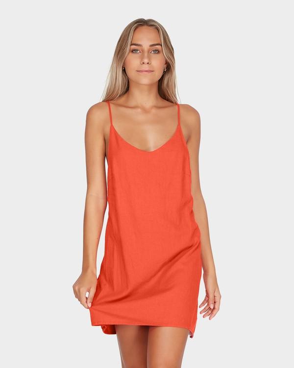 0 SUMMER LOVE DRESS Orange 6572476 Billabong