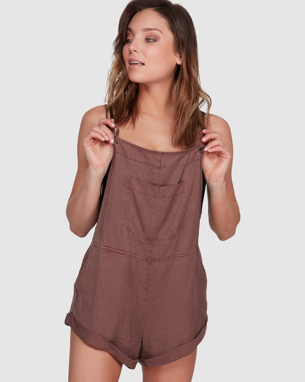 0 Wild Pursuit Jumpsuit Brown 6572501 Billabong