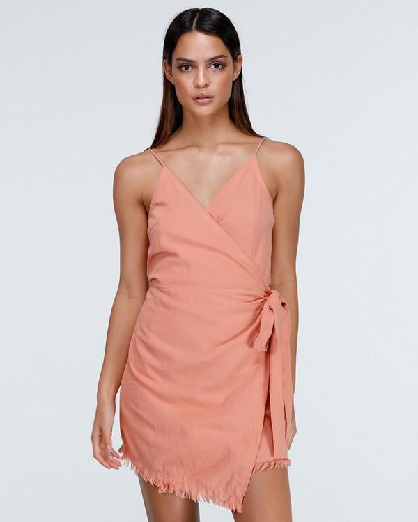 0 FIELD DAY DRESS Pink 6575501X Billabong