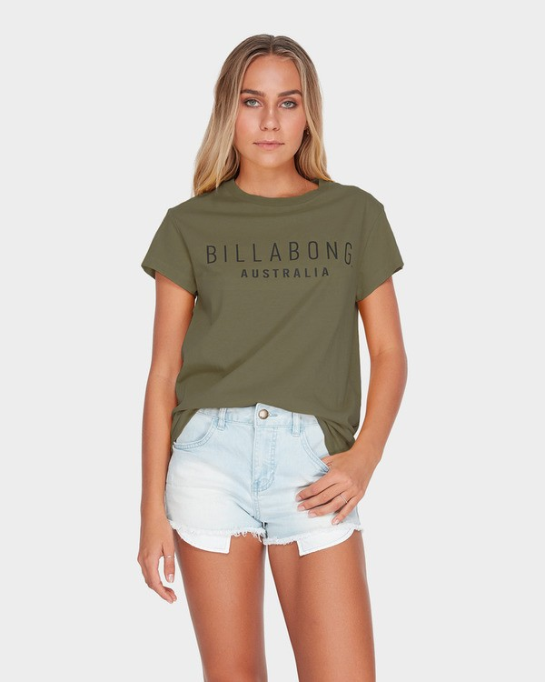0 MAGNETIC TEE Green 6581010 Billabong