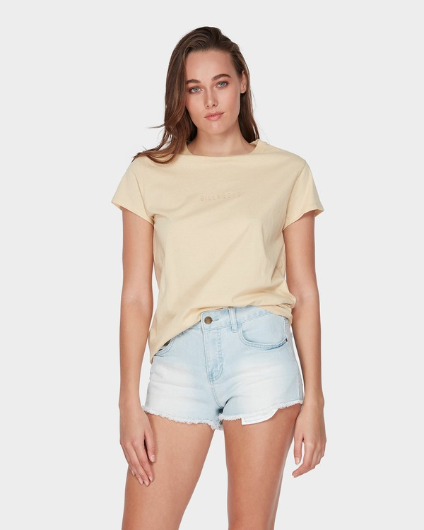0 CHANGES TEE Beige 6581135 Billabong
