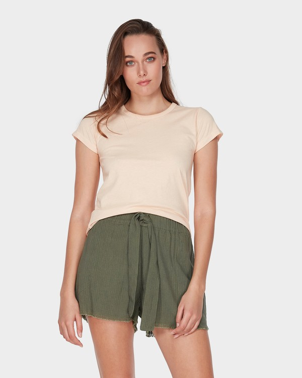 0 WHAT MIGHT BE TEE Beige 6581144 Billabong